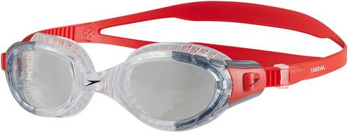 speedo Futura Biofuse Flexiseal - Lunettes de natation - gris/rouge 2018 Lunettes de natation ThxqIoKZdK